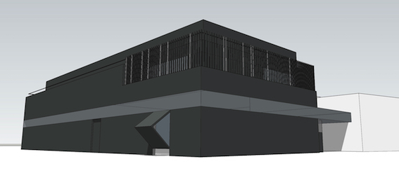 drawing of a data center