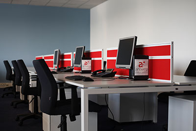 workplace recovery seats in antwerp data center