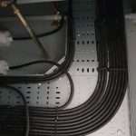 cables at a data center