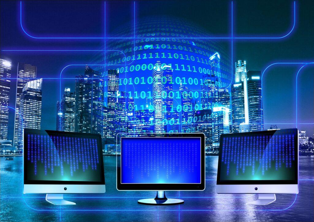 visualisation of increasing data usage